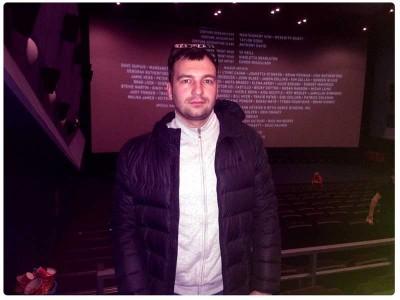Я в кинотеатре на фильме Голодные игры: Сойка-пересмешница 2