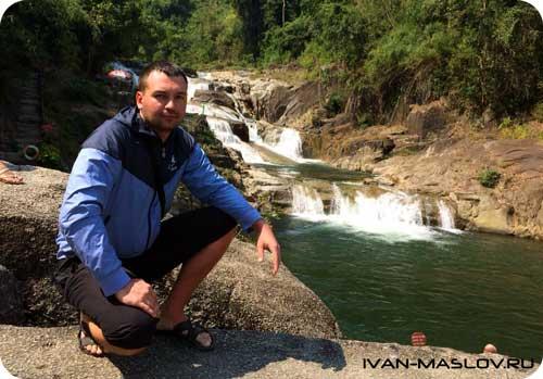 На водопаде Янг Бей