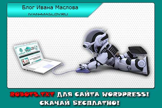 Robots.txt для сайта WordPress